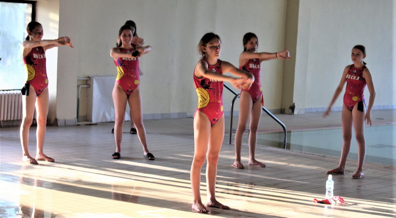 Mlade Bečejke na pripremama selekcije U – 15