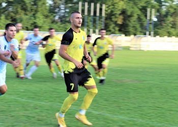 Luka Krajinović je postigao dva gola protiv Veternika | Foto: V. Jankov