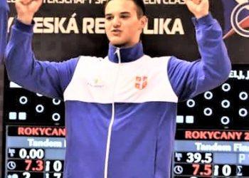 "Marko Erdeljan već ima ""zlato"" sa Svetskog kadetskog prvenstva | Klupska fotografija"
