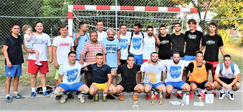 "Finalisti bečejskog turnira ""Trofej Novo Selo 2021"""