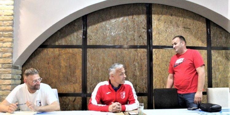 Na Izbornoj skupštini FK Vojvodine Branislav Tatić, Radomir Raković i Goran Kudrić