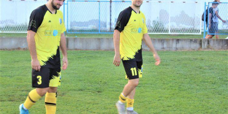RAZLIČITE ULOGE - Savanović (11) je zadužen da daje golove, a Milin (3) da ih sprečava