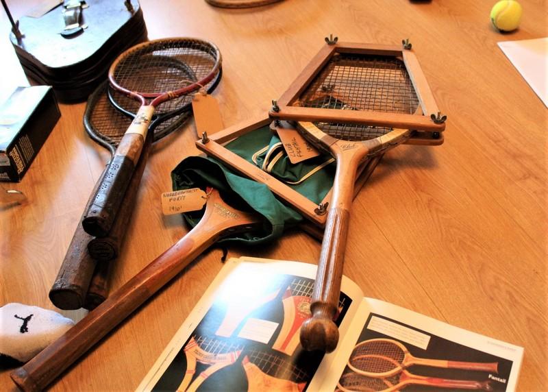 Oldtajmeri teniskih reketa starih više od veka