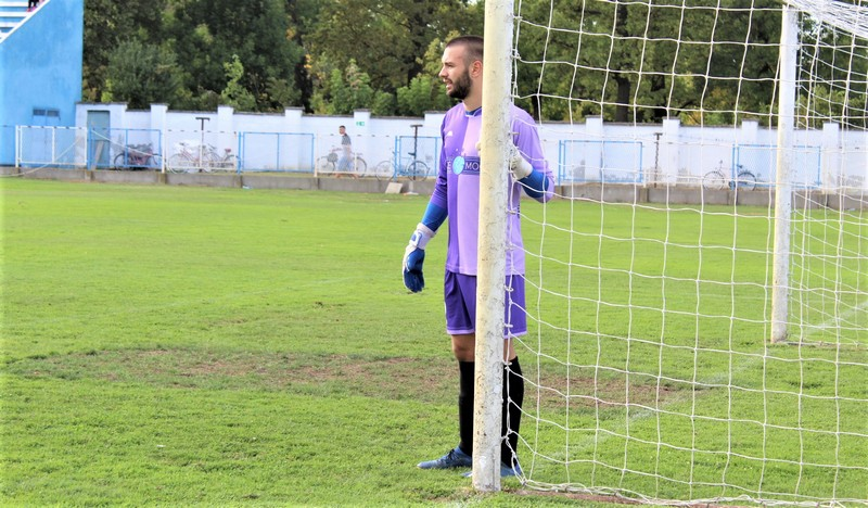 Isidor Milovanov je odbranio penal, ali je bio nemoćan kod primljenih golova