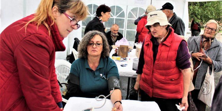 Sa jedne od provera zdravlja u organizaciji Društva za borbu protiv šećerne bolesti opštine Bečej