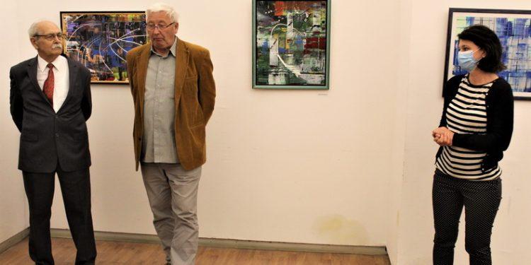 Sa svečanog otvaranja izložbe Aleksandra Markova u sredini