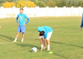 Ilija Tutnjević sasvim levo na treningu ove nedelje